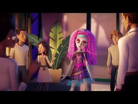 Monster High™ 💜⚡️Monster Makeover! | Electrified | Cartoons for Kids