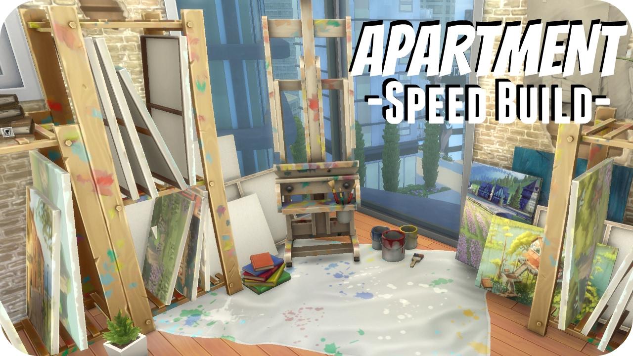 The Sims 4 // Brick & Wood Artist Apartment | 1313 21 Chic Street ...