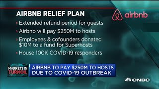 Airbnb To Pay Hosts $250m Due To Coronavirus Outbreak
