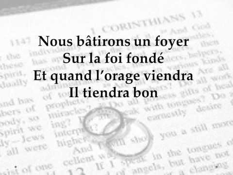 Un foyer uni dans la foi. Household of faith ( French)