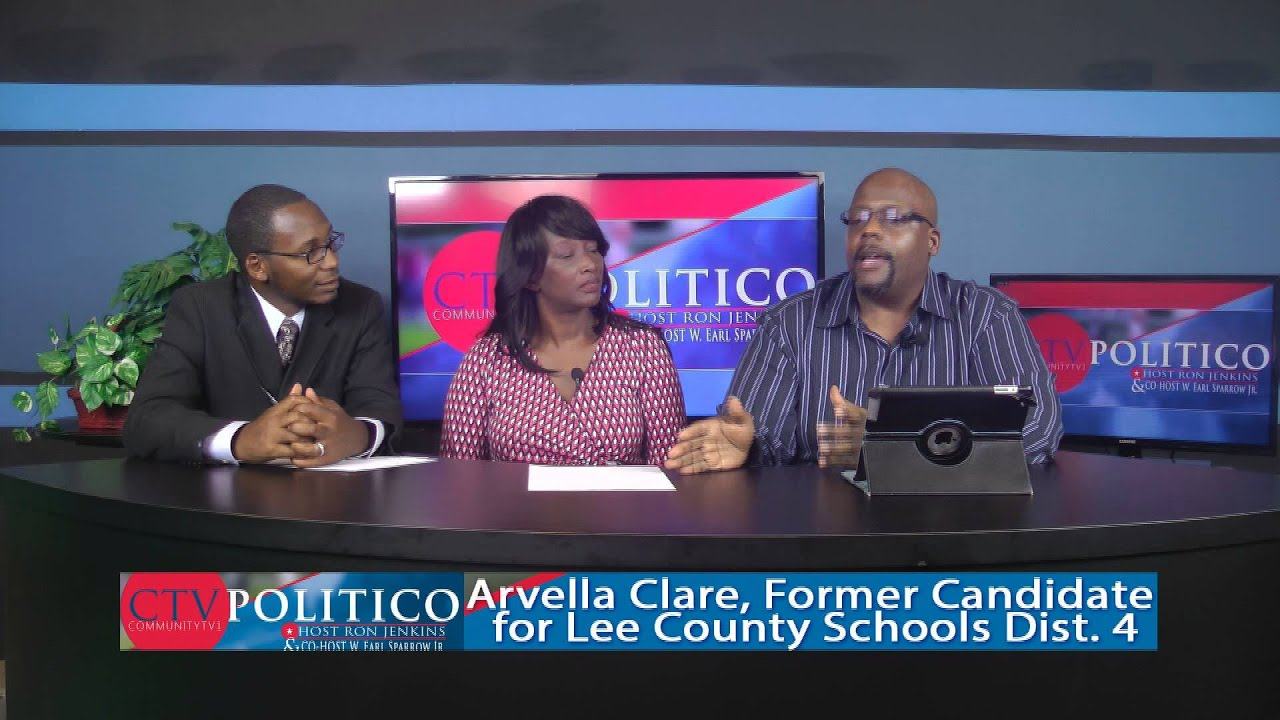 CTV Politico -  With Ron Jenkins - Earl Sparrow & Guest Host Arvella Clare