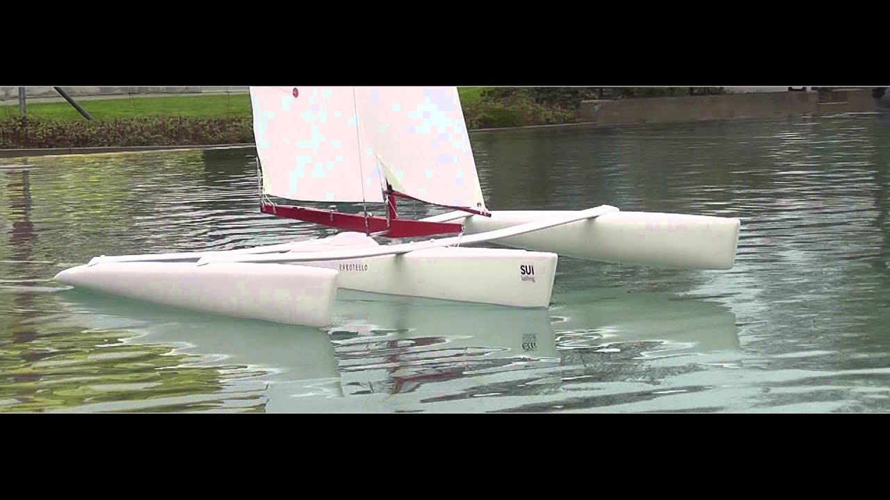 RC Sailboat - Rabotello - Trimaran by RetoFor