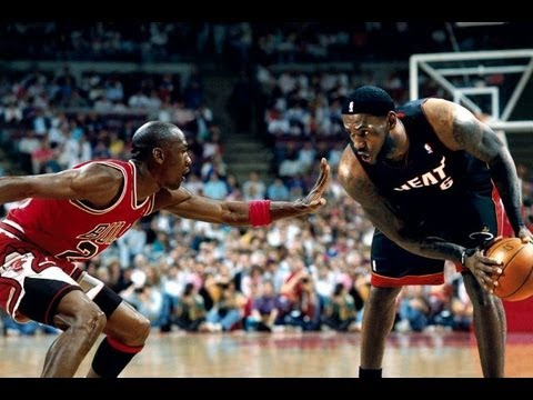 "Michael Jordan vs LeBron James ""Clash of Legacy"" 2013 