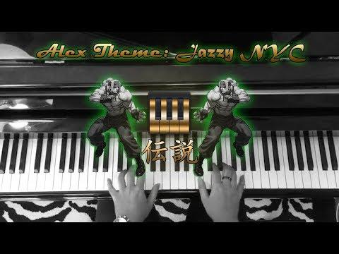 Street Fighter  Jazzy NYC 99  Alexs Theme PianoDensetsu