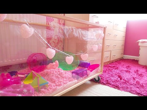 how to clean hamster cage with babies