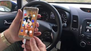 2017 Kia equipped with Google Android Auto