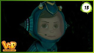 Vir: The Robot Boy   Vir Vs Cemento   Action Show for Kids   3D cartoons