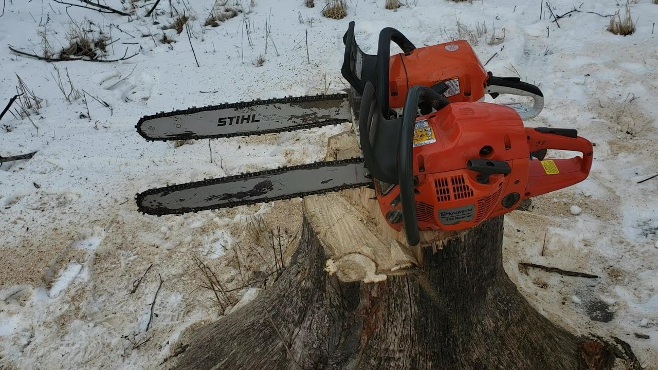 Außergewöhnlich Which Chainsaw Should You Buy? - Stihl MS362c Vs. Husqvarna 455 &SC_62