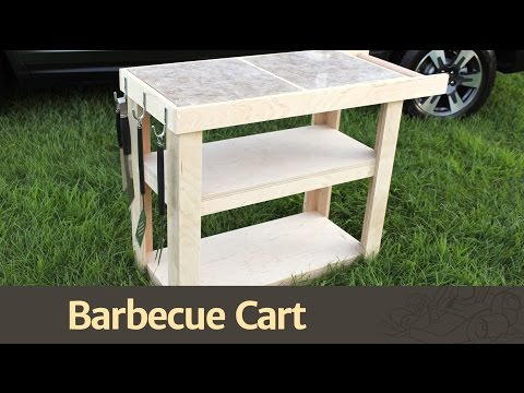265 - Barbecue Cart