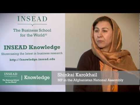 Afghan MP Shinkai Karokhail on women's rights in Afghanistan