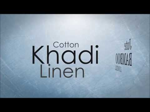 Organic Clothing - Cotton, Linen, Khadi, Lyocell, Bamboo, Jute the Eco Friendly Fabrics