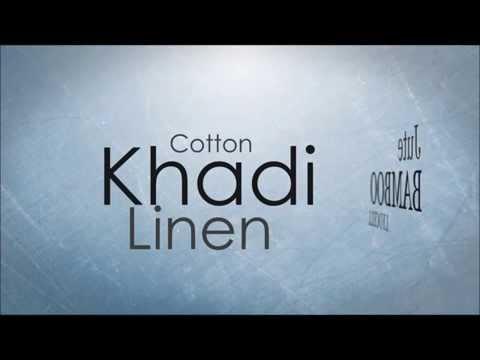 Organic Clothing - Cotton, Linen, Khadi, Lyocell, Bamboo, Jute the Eco Friendly Fabrics