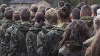Bundeswehr-Schnupperwoche: Heidecamp 2014