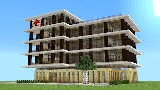 Minecraft - How to build a hospital