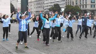 Zumba Flashmob Obelisco Bs As 2014