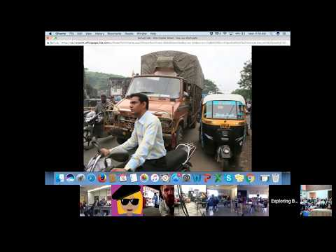 Olie Hunter Smart: Walking India Check-in