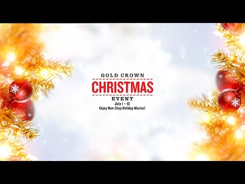 Hallmark Movie's & Mysteries Gold Crown Christmas Event