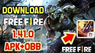 Gambar cover Download Garena Free Fire 1.41.0 APK+OBB | Free Fire Spooky Night Mode | Free Fire Latest Update