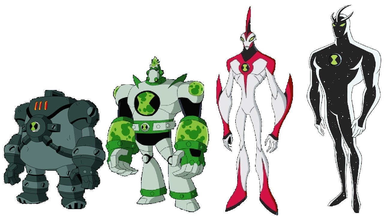 Ben 10 All Aliens Ranked with POWER LEVELS Strongest Aliens
