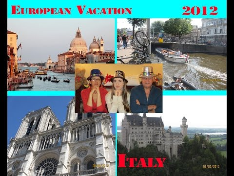 Saryan Family Vacation in Italy with Kirank, 2012