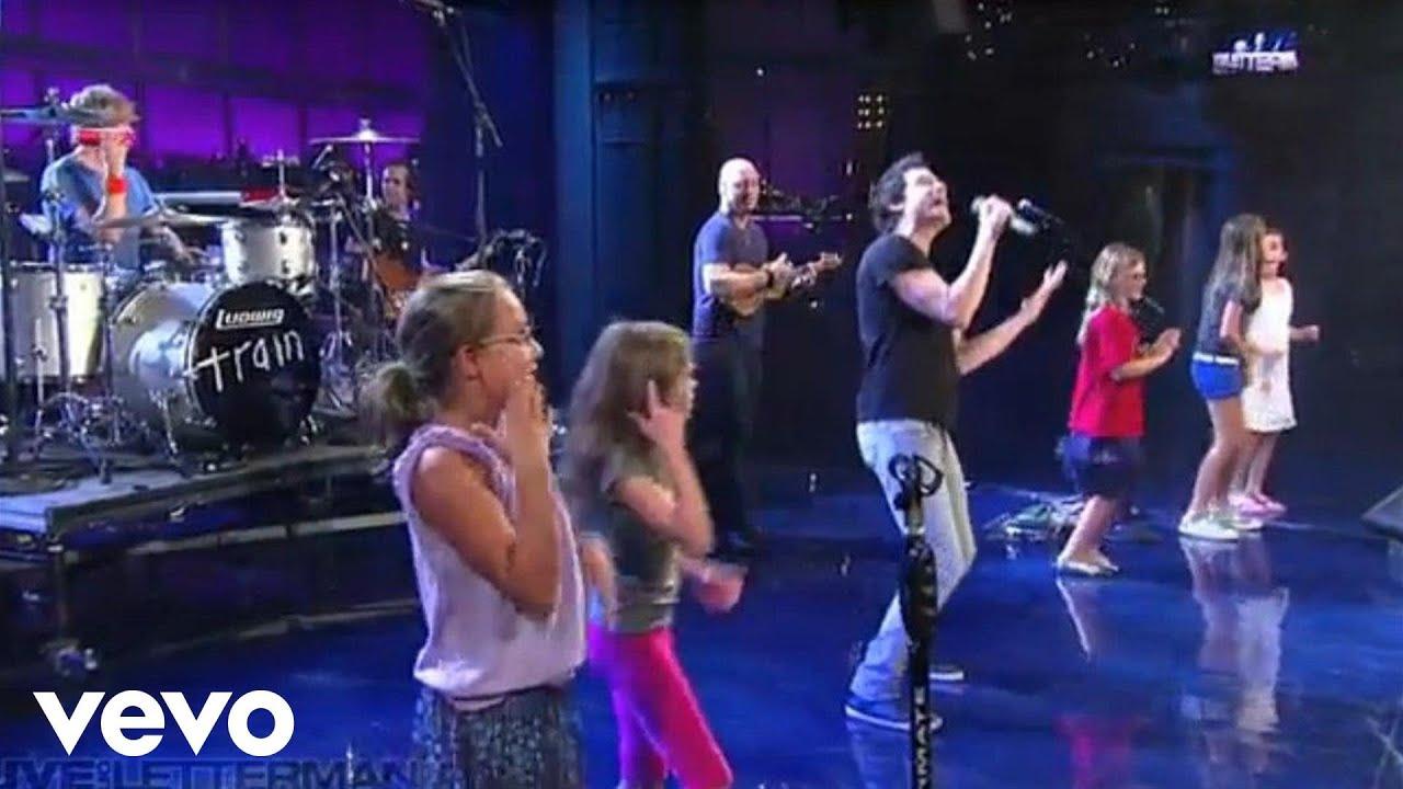 Download Train - Hey Soul Sister (Live on Letterman)
