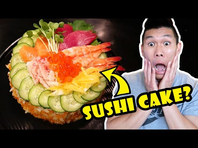 8-LAYER SUSHI CAKE DIY How To Make    Life After College: Ep. 542