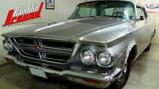 1964 Chrysler 300K 413 Wedge V8 360 HP Letter Car