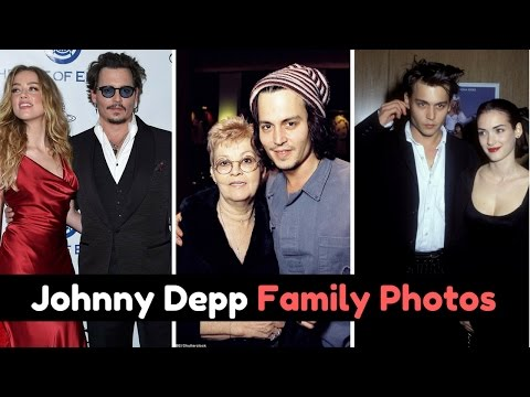 Actor Johnny Depp Family Photos with Former Spouse, Partner, Daughter, Son, Sister & Parents