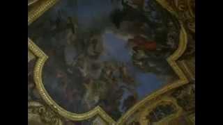 Зеркальная галерея, Версаль, Париж(, 2015-09-07T12:15:01.000Z)