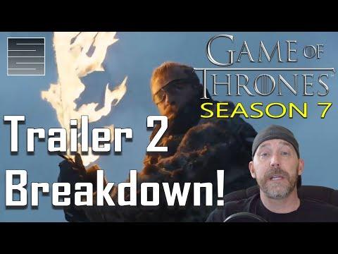 Game of Thrones Season 7 Trailer #2 Breakdown! Winter Is Here