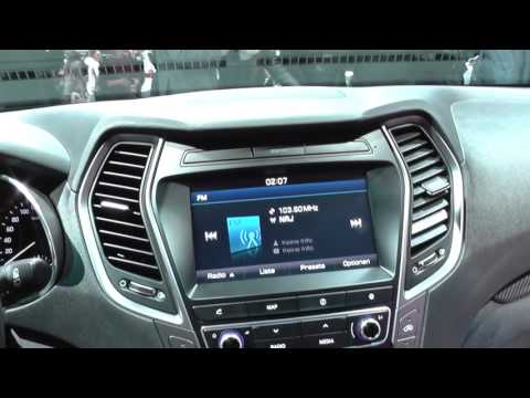 Hyundai Santa Fe Dash Warning Lights & Interior Look Around