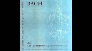 Silent Tone Record/バッハ:6つのヴァイオリン・ソナタ/ポール・マカノヴィツキー、ノエル・リー/仏LUMEN:LD 3437-8/クラシックLP専門店サイレント・トーン・レコード
