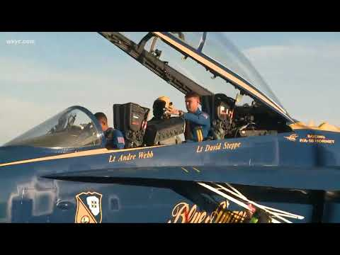 Blue Angels to headline 2018 Cleveland National Air Show