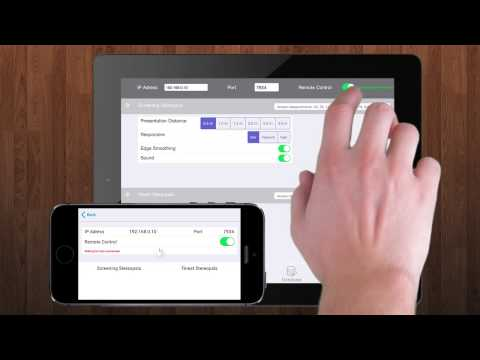 Stereopsis meaurement with mobiles and tablets (IOS and Android)