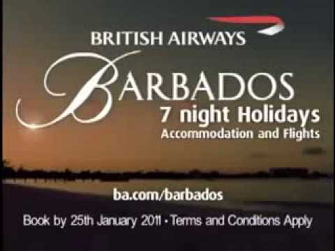 Barbados Tourism Commercial   Day & Night, British Airways