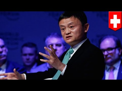 Jack Ma Davos: Alibaba founder thinks US wastes money on military, but says nothing about China