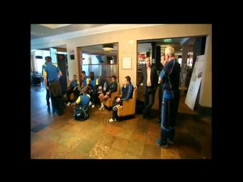 Torquay United - behind the scenes on an away match