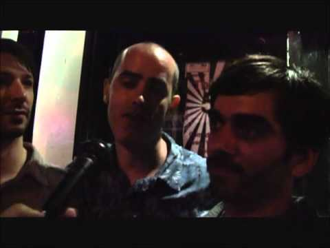Alistair Sim Trio - In the Street Interview, Brooklyn Jazz/Rock Musicians