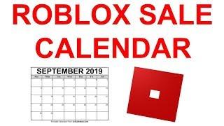 ALL UPCOMING ROBLOX SALES 2019-2020