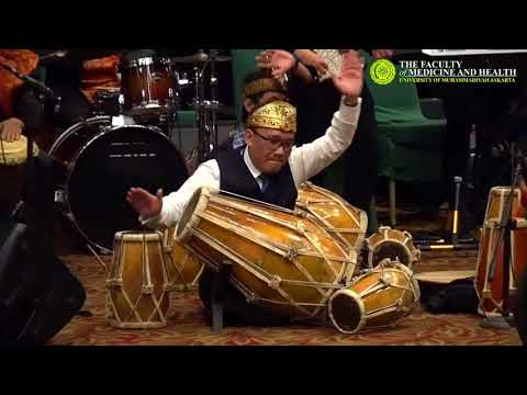 Medley Lagu Daerah - Paduan Suara FKK UMJ & Rumah Angklung Ft. Dekan & Wadek FKK UMJ