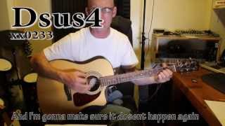 SAY HELLO, WAVE GOODBYE - David Gray. Acoustic tutorial with chords, tips and lyrics