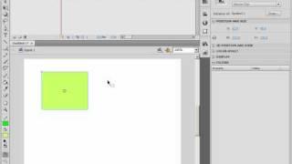 Создание фрагментов ролика в Adobe Flash CS4 (30/46)