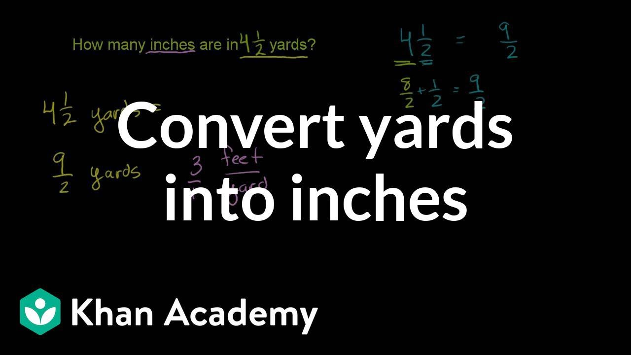 Unit 8 advanced math lessons lessons tes teach converting yards into inches nvjuhfo Images