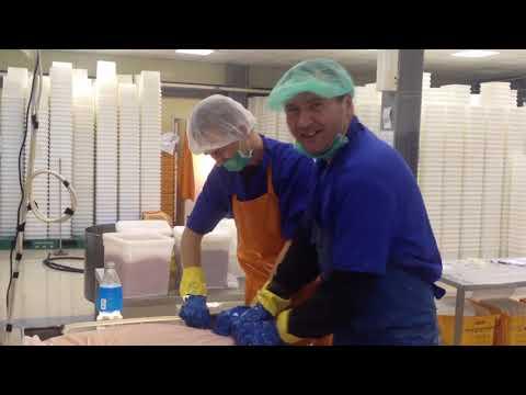 Работа на Камчатке | Икорный цех. Тымлатский рыбокомбинат.