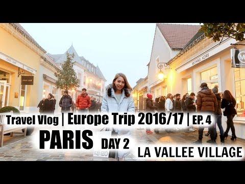 Paris La Vallee Village Branded Outlets 巴黎山谷購物村 | Travel Vlog | Sylvia Cing