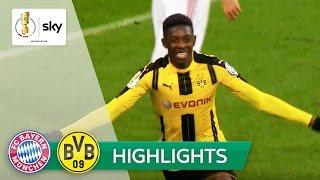 FC Bayern München - Borussia Dortmund | Highlights DFB-Pokal Halbfinale