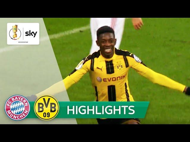FC Bayern München - Borussia Dortmund   Highlights DFB-Pokal Halbfinale