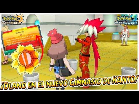 ¡OLANO (Ryuki) en el Gimnasio de KANTO! ¿Estará en el próximo juego? - Pokémon Ultrasol y Ultraluna