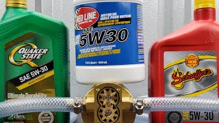 Red line motor oil vs Quaker state & Schaeffer's