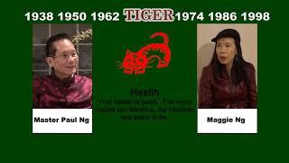 Canadian Chinese, Fengshui Master, Paul Ng, 2020, Zodiac Animal Predictions, Tiger
